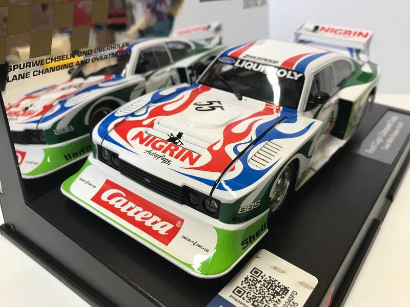 "Carrera Digital 124 Ford Capri Zakspeed Turbo ""Liqui Moly Equipe, No.55"" 23869 – Bild 2"