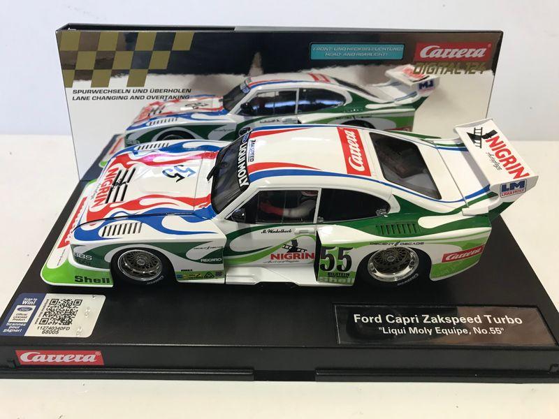 "Carrera Digital 124 Ford Capri Zakspeed Turbo ""Liqui Moly Equipe, No.55"" 23869 – Bild 1"