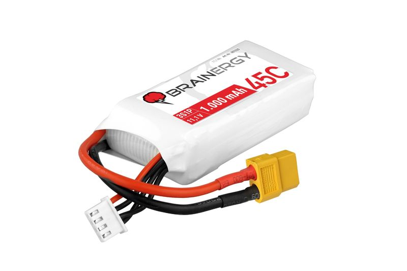 Yuki Model BRAINERGY LiPo Akku 3s1p 11,1V 1000mAh 45C XT60 801020