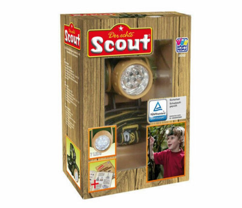 SCOUT Kinder LED Stirnlampe Outdoor 19352 – Bild 2
