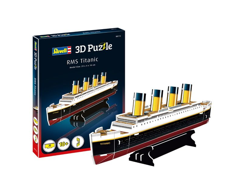 Revell 3D Puzzle RMS Titanic 00112