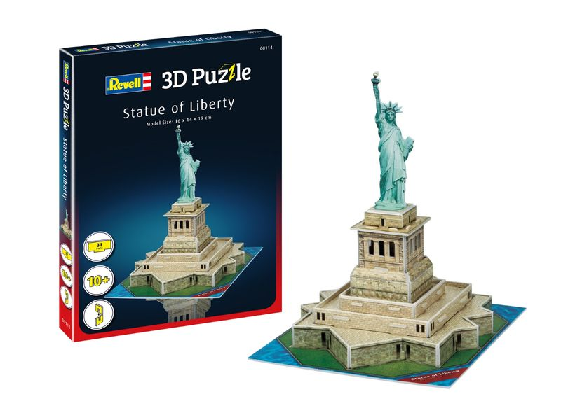 Revell 3D Puzzle Freiheitsstatue 00114
