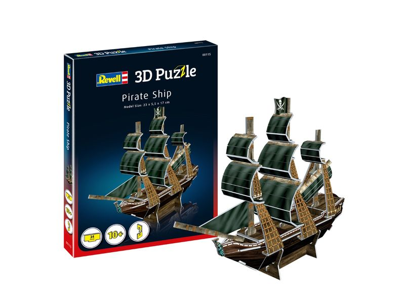 Revell 3D Puzzle Piratenschiff 00115