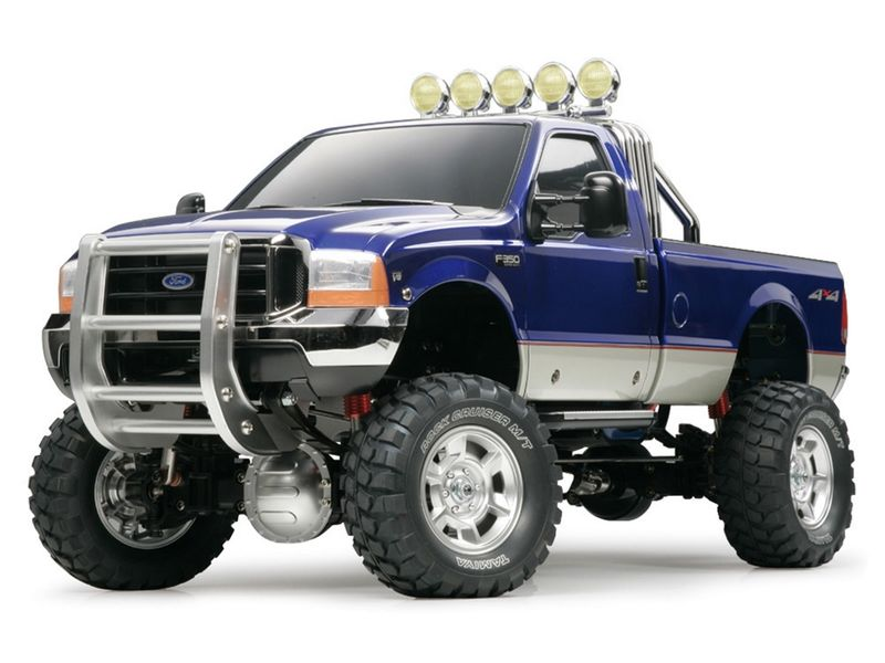 Tamiya 1:10 RC Ford F-350 HighLift 4x4 3-Gang Pick Up Truck 58372 – Bild 1