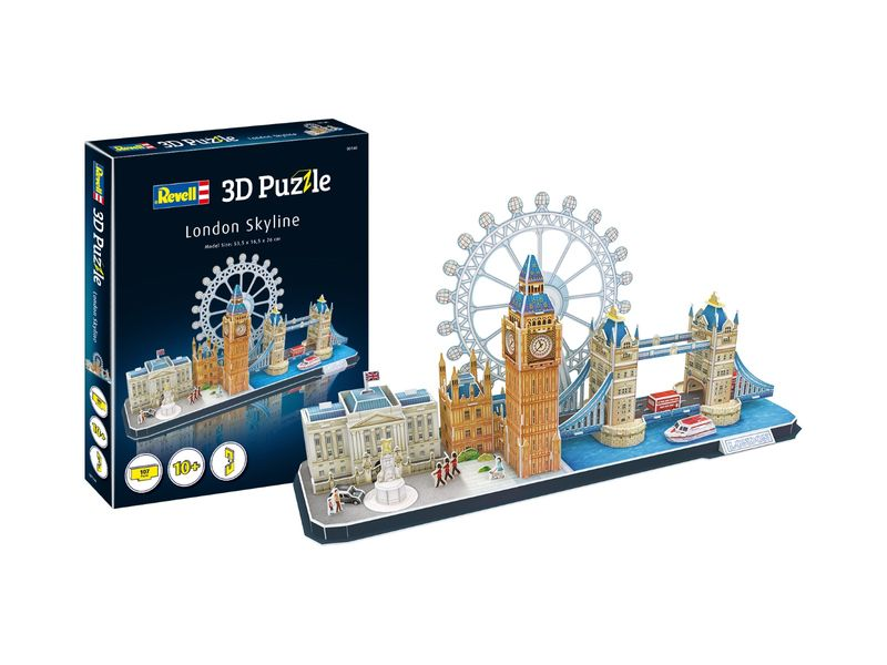 Revell 3D Puzzle London Skyline 00140
