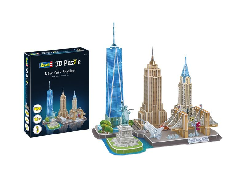 Revell 3D Puzzle New York Skyline 00142