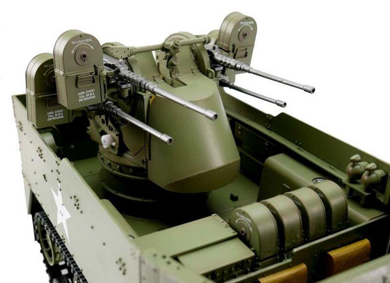 Torro 1:16 RC Halbkettenfahrzeug M16 1124000806 – Bild 3