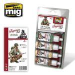 MIG Figuren Farben Set US FORCES UNIFORMS WWII 68 ml (€15,57/100ml) 2414297022 001