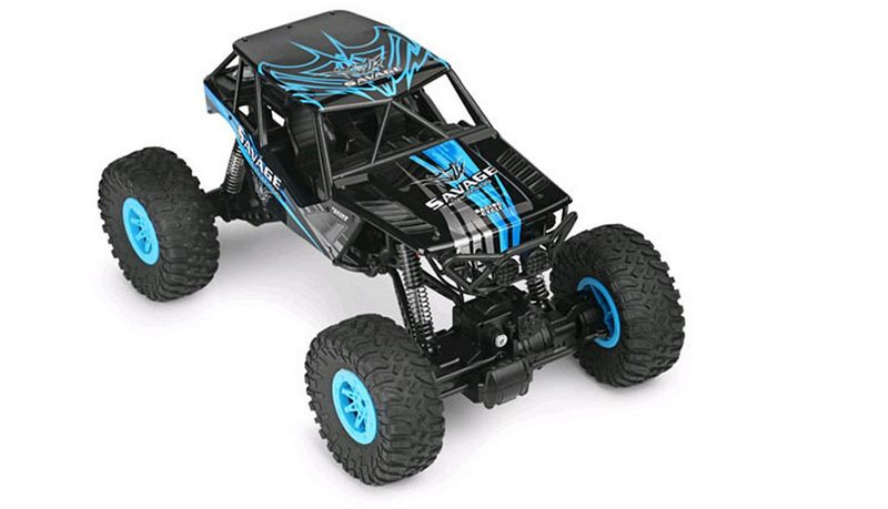 Amewi 1:10 DSC Climb Nation Crawler 2,4GHz 22298-K Blau – Bild 3