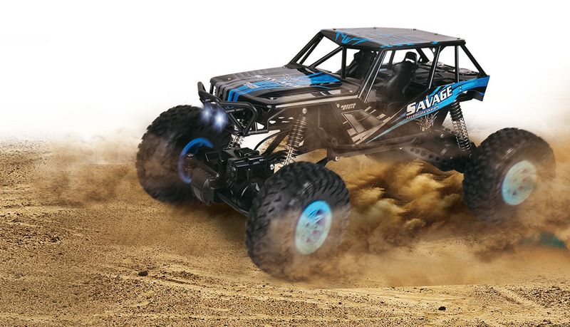 Amewi 1:10 DSC Climb Nation Crawler 2,4GHz 22298-K Blau – Bild 1