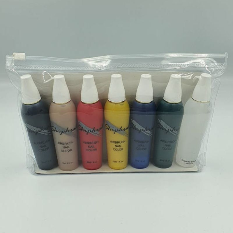 Airbrushfarbe Airbrush Nail Color Set 2362