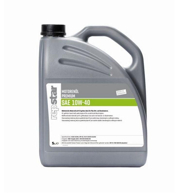 Repstar Motorenöl Premium SAE 10W-40 5 Liter (4,70€/1L) VW501 01/505 00