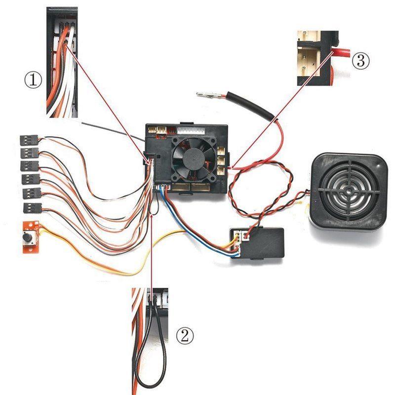 Torro Fahrtenregler 2,4 GHz Platine mit IS-2 Sound 1219900040 – Bild 2