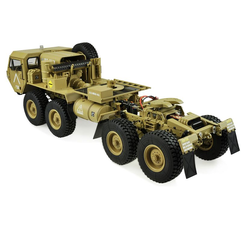 Amewi U.S. Militär Truck 8x8 1:12 Zugmaschine sandfarben 22390 – Bild 4
