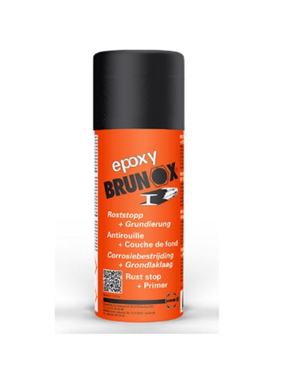 BRUNOX EPOXY ROSTUMWANDLER + GRUNDIERER 150ml Spray (€90,33/1L) BR0,15EP