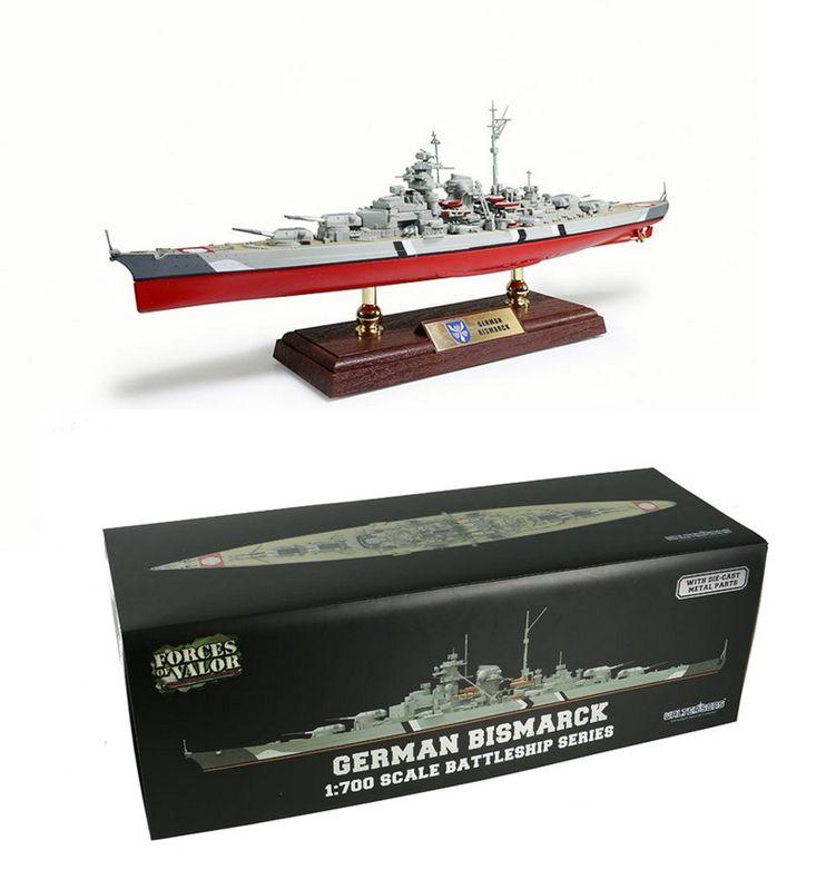 Forces of Valor Schlachtschiff Bismarck 1:700 Fertigmodell 861006A – Bild 1