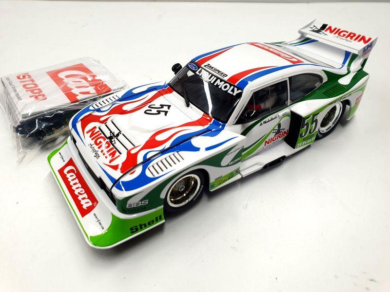"Carrera Digital 124 Ford Capri Zakspeed Turbo ""Liqui Moly Equipe, No.55"" 23869 ohne Box"