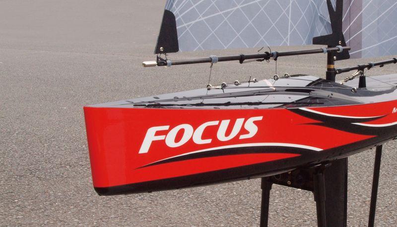 Amewi Focus V2 -100cm Racing Yacht, Segelboot 2,4 GHz, RTR 26061 – Bild 8