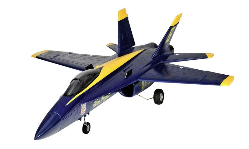 Amewi F18 Jet Blue Angel 656mm PNP 64mm EDF 24075 – Bild 2