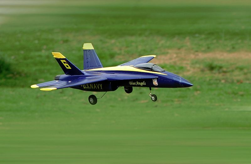 Amewi F18 Jet Blue Angel 656mm PNP 64mm EDF 24075 – Bild 3