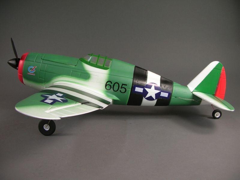 Amewi P-47 Thunderbolt 4 Kanal, SW 830mm RTR 24021 – Bild 2