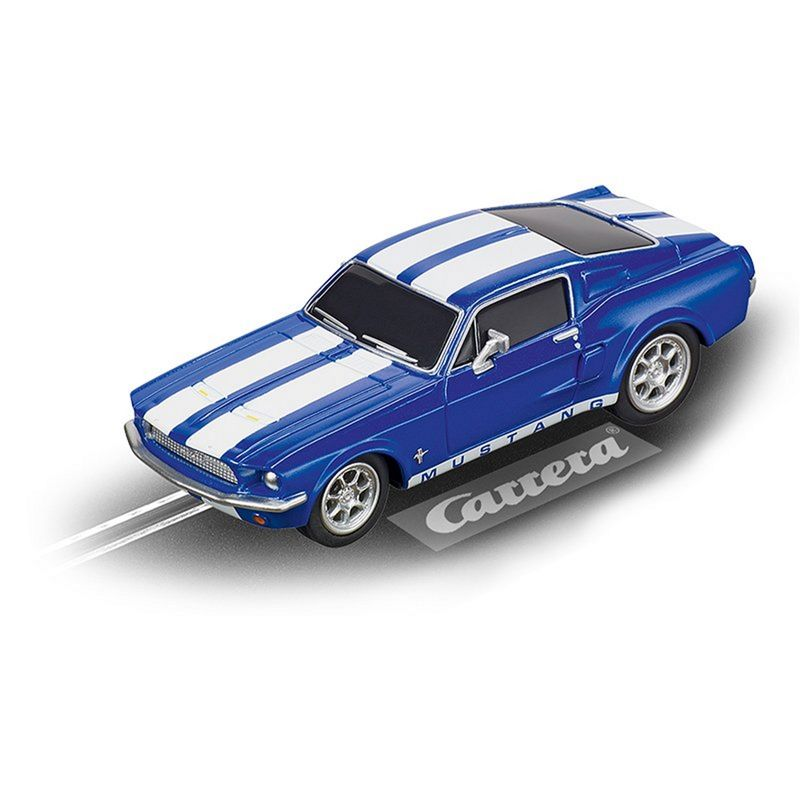 Carrera GO !!! FORD MUSTANG '67 - RACING BLUE 64146