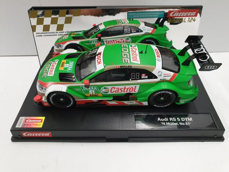 "Carrera Digital 124 Audi RS 5 DTM ""N.Müller, No.51"" 23884 – Bild 1"