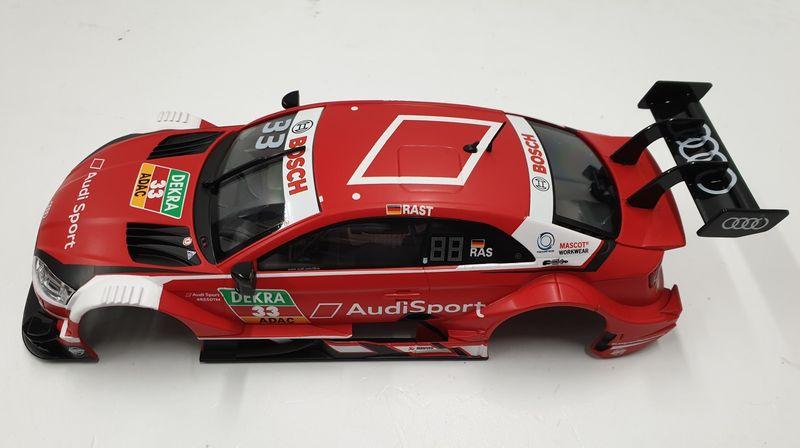 Carrera Digital 124 Karosserie vom Audi RS 5 DTM R.Rast 1:24 aus 23883