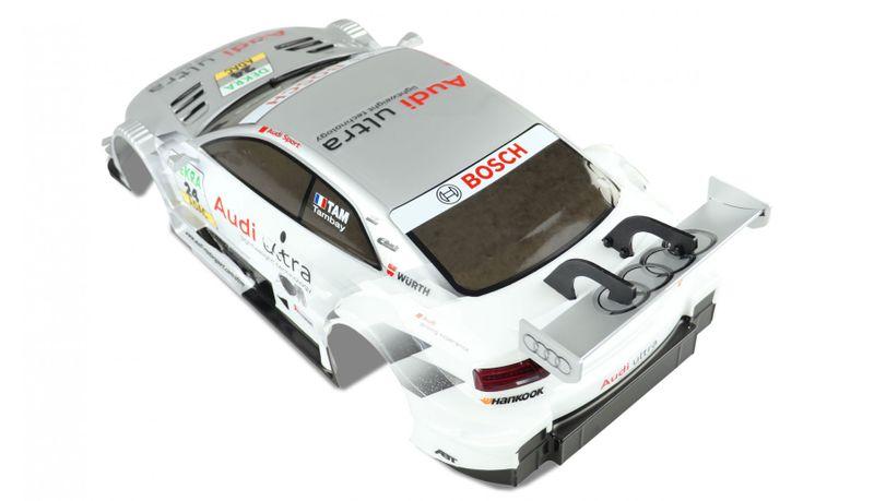 Amewi 1:10 Lexan Karosserie Audi RS5 DTM lackiert 009-105137 – Bild 2