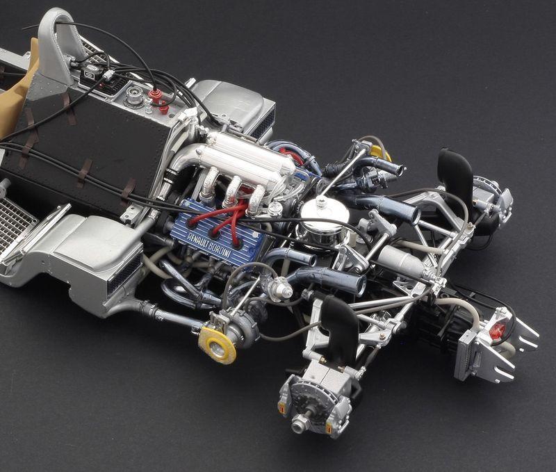 Italeri 1:12 Formel 1 Renault RE20 Turbo Plastik Bausatz 4707 – Bild 5