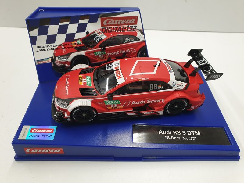 "Carrera Digital 132 Audi RS 5 DTM ""R.Rast, No.33"" 30879 – Bild 1"