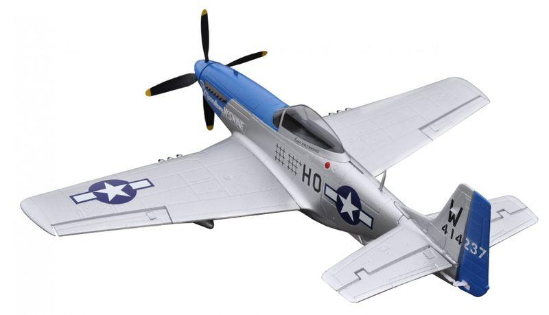 Amewi RC Warbird P-51D Mustang blue PNP 4 Kanal SW 75 cm 24044 – Bild 2