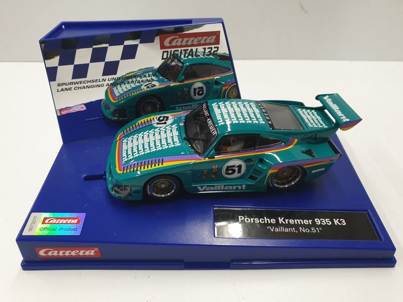 Carrera Digital 132 Porsche Kremer 935 K3 Vaillant, No.51 30898
