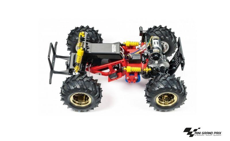 Tamiya 1:10 RC Monster Beetle Black Edition 47419, Bausatz – Bild 2