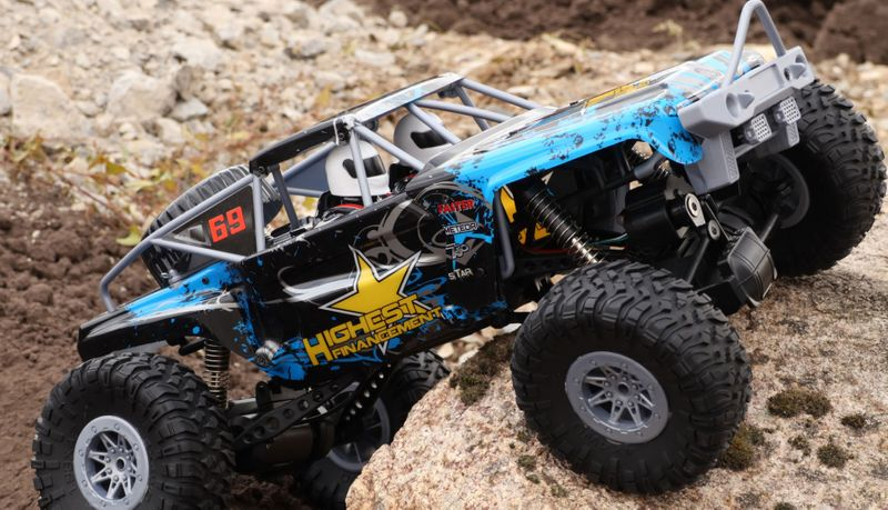 Amewi Double Bridge Crawler brushed 1:10 2,4GHz RTR 22412 – Bild 5