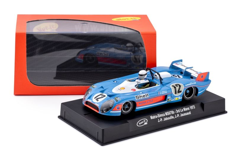 Slot.it 1:32 Matra-Simca 670b 3rd La Mans 1973 CA37B – Bild 2