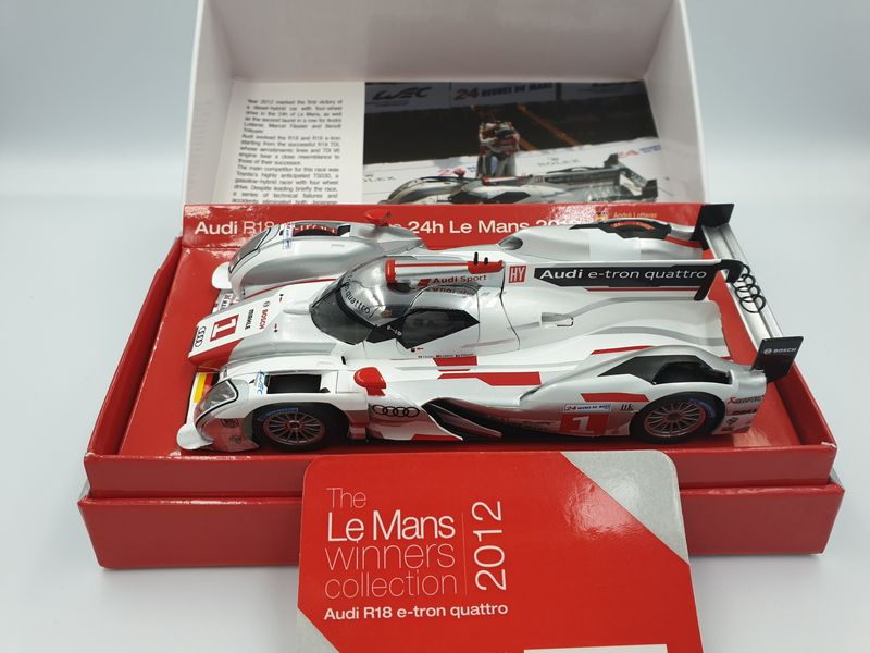 Slot.it 1:32 Audi R18 e-tron quattro Le Mans 2012 No. 1 Limited Edition CW14 – Bild 1