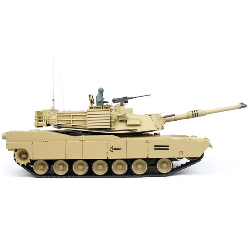 Torro 1/16 RC M1A2 Abrams sand BB 2.4GHz 1116039182 mit Metallketten – Bild 4
