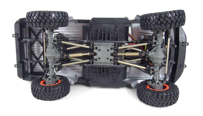 Amewi AMXROCK RCX10P SCALE CRAWLER PICK-UP 1:10, RTR GRAU 22435 – Bild 5