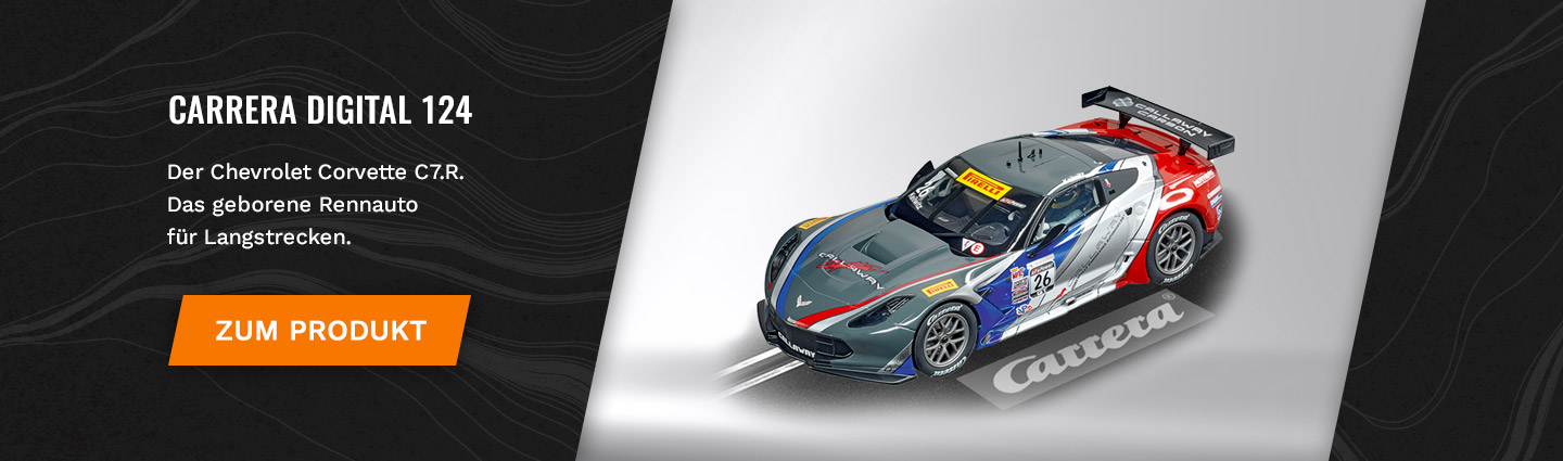 Carrera Digital 124 Chevrolet Corvette C7.R Callaway Competition