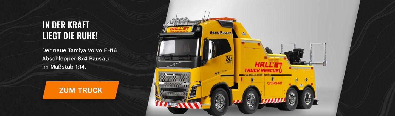Tamiya 1:14 RC Volvo FH16 Abschlepper 8x4 Bausatz 56362