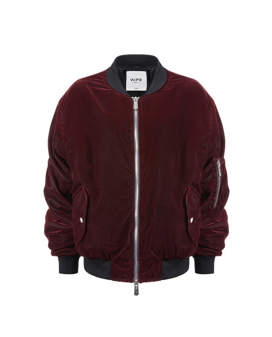 CHALLENGER VELVET BI-COLOR JACKET