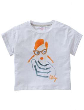 Oilily Shirt TICKLE Girl white