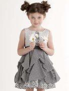 Kate Mack Kleid Dream Black White