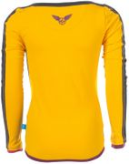 Ninni Vi Langarmshirt LOVE New Yoork - Yellow Gold Fusion