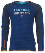 Ninni Vi Langarmshirt LOVELY New York - Blue Surf the Web