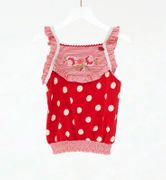Mim-Pi Top lovely Dots - Rot Weiss