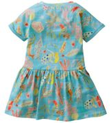 Oilily Kleid TROTERLY mermaids and corals - light Blue