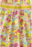 Room Seven Kleid TITOU Sprimg Flower - Sonnengelb