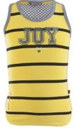 Ninni Vi Tank Top Stripe JOY - Yellow